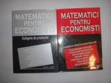 Matematici pentru Economisti - manual ASE 2 vol, manual + culegere probleme,P11