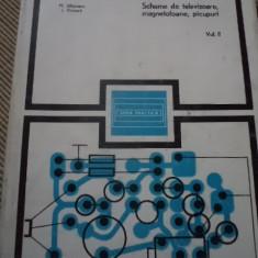 Scheme de televizoare magnetofoane picupuri vol II seria practica e tehnica 1976, Alta editura