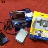 Sony CyberShot 5.1 Megapixel Silver Digital Camera - DSC-T7 - Card Memory Stick Pro Duo, 4 GB
