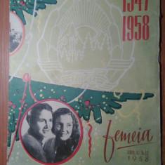 Revista femeia nr.12 /1958 - Revista casa