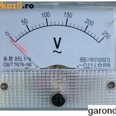 Aparat de masura analogic - 500 uA, c.c. /1435 - Ampermetru