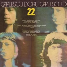 Disc-Doru Caplescu-22-cu participarea SONG - Muzica Dance electrecord