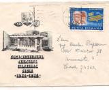 Plic(intreg postal)-SEMICENTENARUL CERCULUI FILATELIC SIBIU-1924-1974, Dupa 1950
