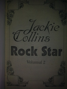 JACKIE COLLINS - ROCK STAR vol. 2
