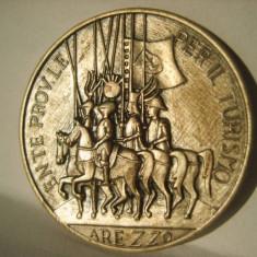 Medalie argint Italia CAVALERI - Festivalul International de Teatru Arezzo1968