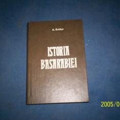 ISTORIA BASARABIEI-A BOLDUR - Carte Istorie