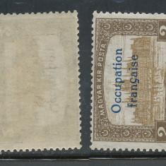 RFL 1919 ROMANIA Emisiunea Arad 2 Lei Parlament neuzat fara sarniera - Timbre Romania