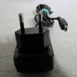 1798PLU Incarcator cu mufa mini usb alimentator original BlackBerry  output 5v merge la aparate ce necesita mini usb 5v