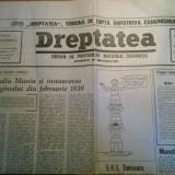 Ziarul dreptatea 28 februarie 1990