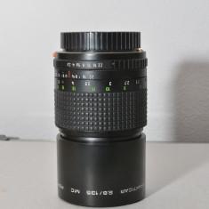 "Obiectiv Practicar 2,8/135 MC ""BOKEH MONSTER"" cu adaptor Canon"