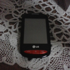 Telefon LG T310, Negru, Neblocat, Single SIM, Touchscreen, 2 MP