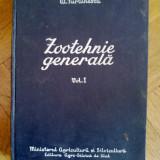 A. Furtunescu - ZOOTEHNIE GENERALA, Vol. 1, Ed. Agro-Silvica de Stat, 1958
