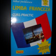 Marcel Saras, Mihai Stefanescu- LIMBA FRANCEZA curs practic, 2 editii, 1996 si 2003