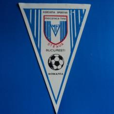 Fanion fomat mare - AS Mecanica Fina Steaua Bucuresti - Fanion fotbal