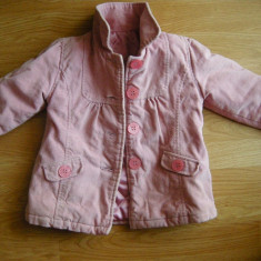 Haina iarna eleganta (captusita) - 18-23 luni), Culoare: Roz, Roz