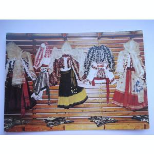 Romania-Costum popular femeiesc Prahov