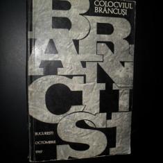 Colocviul Brancusi ,Comitetul pentru cultura si arta, 1968