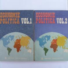 Economie politica vol. I, II - Carte Economie Politica