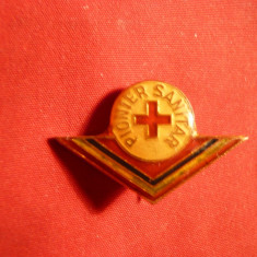 Insigna Pionier Sanitar -mica