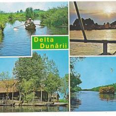 Carte postala(marca fixa)-DELTA DUNARII