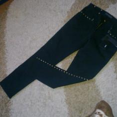 Jeans dama negri Gianni Versace model A64412 - Blugi dama Versace, Marime: 27, Culoare: Negru, Negru, Skinny
