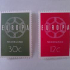 Olanda 1959 CEPT Europa serie MNH cota 20 euro - Timbre straine