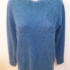 Pulover / bluza elegant(a), marime M; impecabila - Pulover dama, Marime: M, Culoare: Verde