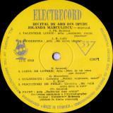Iolanda Marculescu - Recital De Arii Din Opere (Vinyl)