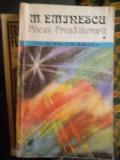 POEZII-PROZA LITERARA- MIHAI EMINESCU -VOL.1