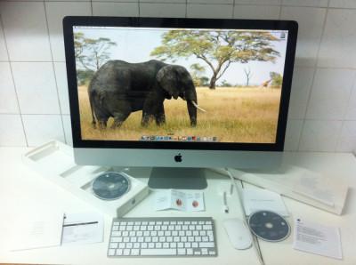 DESKTOP PC APPLE  A1312  MAC OS X . 16 Gb . RAM si 1 TB hard disk foto