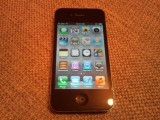 Vand Iphone 4 negru de 32 gb codat p orange arata impecabil, 32GB, Apple