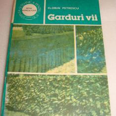 GARDURI VII - Florin Petrescu - Carte Hobby Gradinarit