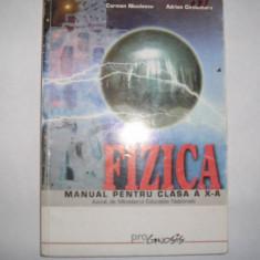 Manual Fizica cls a-X-a Carmen Niculescu, Adrian Carciumaru, r31 - Manual scolar niculescu, Clasa 10