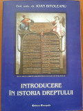 INTRODUCERE IN ISTORIA DREPTULUI - Ioan Bitoleanu