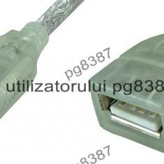 Cablu adaptor USB A tata-USB A mama - 0,2 m-128067