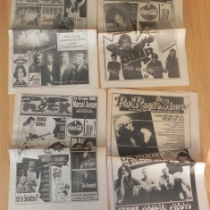 REVISTE VOX POP ROCK SAPTAMANAL DE MUZICA ANII 1990, DIVERSE NUMERE foarte rare