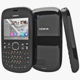 Vand Nokia asha 201 - Telefon Nokia, Negru, 32GB, Orange, 2 MP, Symbian OS
