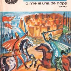 POVESTEA SULTANULUI OMAR AL-NEMAN - O MIE SI UNA DE NOPTI VOLUMUL 3 BIS (1981) - Carte poezie copii