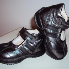 Pantofi LUMBERJACK fetite mas 20 - Pantofi copii Lumberjack, Culoare: Gri, Fete, Piele naturala