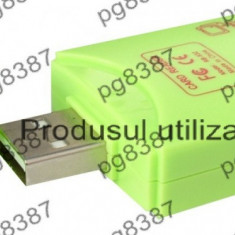 Cititor de carduri, card reader SD, MMC, T-Flash, MS/MS PRO, MS Duo-114014