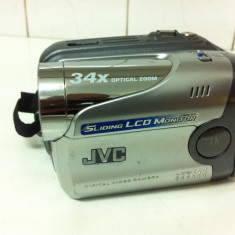 Camera Video JVC DIGITAL VIDEO CAMERA GR-DA20E, 2-3 inch, Mini DV, CCD, 20-30x