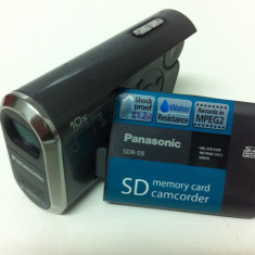 Camera Video PANASONIC SDR-S9EG-S, 2-3 inch, Card Memorie