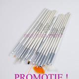 Set pensule unghii 15 pensule pentru unghii nail art pictura unghii - Ustensile