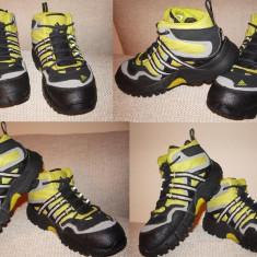 Ghete Adidas marimea 27 - Ghete copii Adidas, Culoare: Negru, Baieti