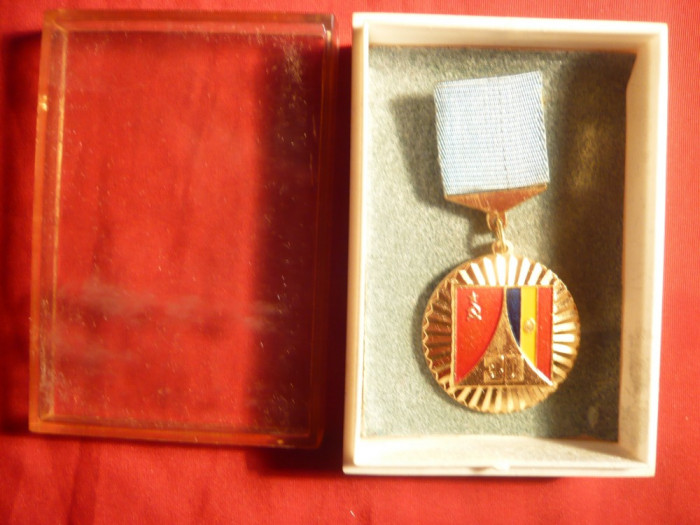 Medalia 30 Ani Colaborarea Stiintifica URSS-Romania