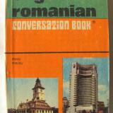 """ENGLISH - ROMANIAN CONVERSATION BOOK / GHID DE CONVERSATIE ENGLEZ - ROMAN"", Ed. III, Mihai Miroiu, 1976. Absolut nou"