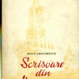 SCRISOARE DIN MOSCOVA - IOAN GRIGORESCU - Carte de calatorie