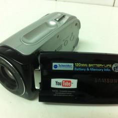 Camera Video SAMSUNG DIGITAL CORDER VP-MX10/XEF, 2-3 inch, Card Memorie, CCD, 20-30x