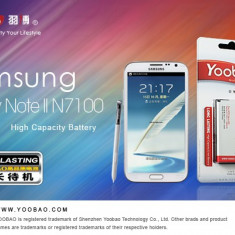 Baterie 3100mAh Samsung Galaxy Note 2 N7100 by Yoobao Originala