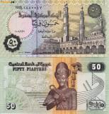 + Bancnota UNC Egipt 50 piastres 2005 +